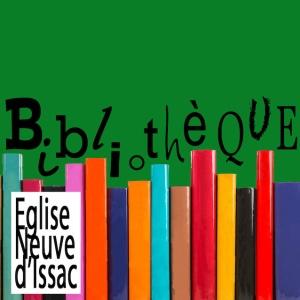logo bibliothèque eglise neuve d'issac